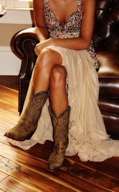Love those cow boy boots! Get them from Cavender's