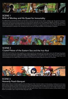 Monkey: Journey to the West. Co-creators Damon Albarn and Jamie Hewlett. Director Chen Shi-Zheng.