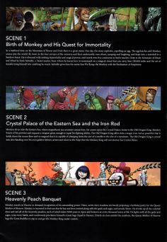 Monkey: Journey to the West. Co-creators Damon Albarn and Jamie Hewlett. Director Chen Shi-Zheng.