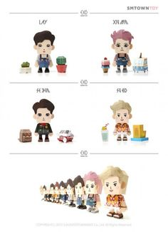 EXO-L's happily note the inclusion of Tao in EXO's upcoming paper toys of each member | allkpop.com