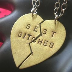 the new best friend necklace
