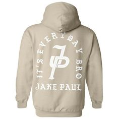 49adc3cc49 Jake Paul It s Everyday Bro Hoodie (225 MAD) ❤ liked on Polyvore featuring  tops