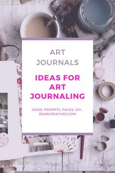 Are you looking for journaling ideas, prompts, and how-tos? Ideas For Art Journaling - Inspiration + Tips... Plus our favorite art journaling magazine and journal pages to inspire you to open your journal and start on your journal spreads! #journalpages #artjournaling #artjournal #ideasforartjournaling #artjournalpages #artjouraling #artjournalspreads #creativity #journals #journal #dearcreatives #artjournal Journal Prompts, Art Journal Pages, Art Journaling, Journals, New Crafts, Arts And Crafts, Free Magazines, Getting Played, My Magazine