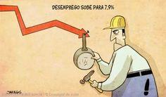 Só 7,9%???... No Bolsa Família estão 25 milhões de desempregados, que não estão inscritos como desempregados.