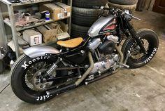 Harley sportster bobber 1991