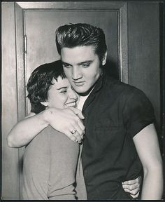 11 july 1956 60 years ago today, Elvis vacations in Biloxi, MS spending time with girlfriend, June Juanico
