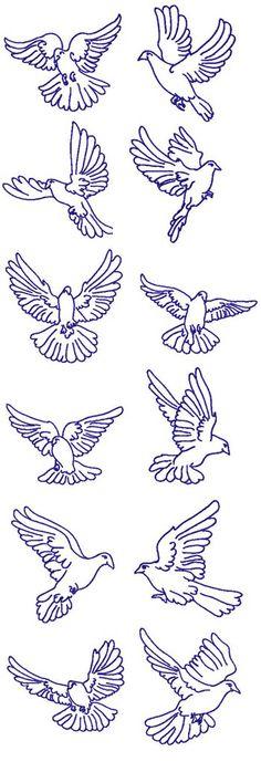 A Dozen Doves by P C Creations PCC-14019