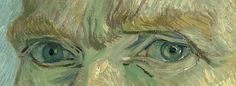 The eyes of Vincent van Gogh:Self Portraits, 1886 - 1889.