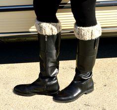 Knit Boot Cuffs~