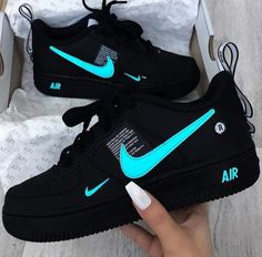"""Top Nike you Can get Right Now If getting a new sneakers is on your list here are 5 Nike you can get right now. This summer Nike is also releasing """" Inside Out"""" Air Force 1 so keep an eye out for that. Whatever you may be into one of these Nike will do… Jordan Shoes Girls, Girls Shoes, Cute Sneakers, Sneakers Nike, Sneakers Style, Neon Nike Shoes, Black Nike Trainers, Sneakers Workout, Nike Sandals"""