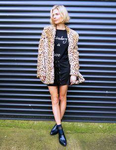 5fe4583440c Say Hello To The Leopard Print Coat  487 - Pandora Sykes Модные Наряды