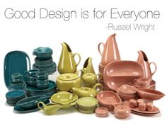 #RusselWright #Quote #Midcenturymodern #AmericanModern