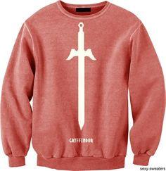 I love sweatshirts and I love Harry Potter!