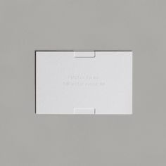 Brand identity and blind embossed business cards for Héctor Ayuso by graphic design studio Mucho