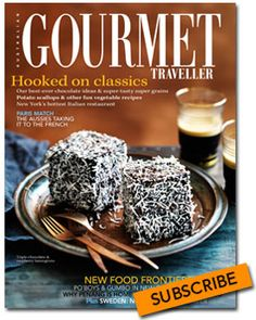 Australian Gourmet Traveller recipe for triple-chocolate lamingtons // afternoon tea Köstliche Desserts, Delicious Desserts, Dessert Recipes, Yummy Food, Paleo Sweets, Paleo Dessert, Aussie Food, Australian Food, Mini Cakes