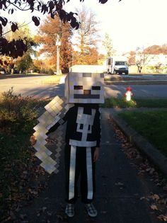 minecraft skeleton costume - Google Search