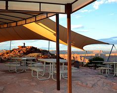 Grand Canyon Skywalk Picnic Tables from The Park Catalog
