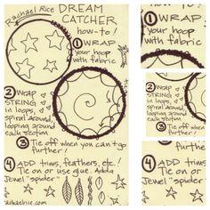 how to make dream catch