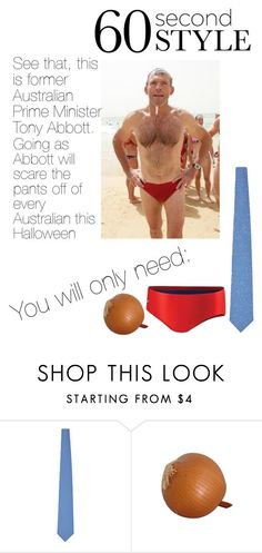 """""""Former Australian Prime Minister"""" by snowflake-risotto ❤ liked on Polyvore featuring Speedo and Brioni"""