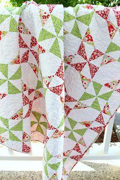 Double Pinwheel Quilt Block Tutorial - Pleasant Home