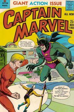 Captain Marvel (1966) #4, Burgos/Hubbell