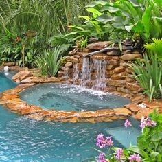 Tropical Pool Design Ideas, Remodels & Photos