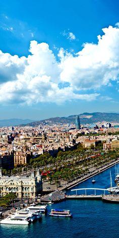 Vista del barrio de Puerto en asombrosa Barcelona, España |  24 razones por las que España debe estar en su lista de cubo.  Increíble no.  # 10
