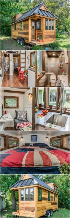That is exactly what New Frontier Tiny Homes has achieved with their Cedar Mountain home. The Cedar Mountain Tiny House has elements of rustic design combined with some modern materials for a fresh look and feel. If New Frontier Tiny Homes rings a bell, that is probably because you read my previous entry on their Alpha Tiny House. The Alpha House, their flagship home, sells for $95,000. It is amazing, but obviously at the higher end and not affordable to everyone. The Cedar Mountain Tiny…