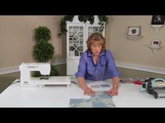 ▶ From the Sizzix Quilting Workshop: Hunter's Star Block - YouTube