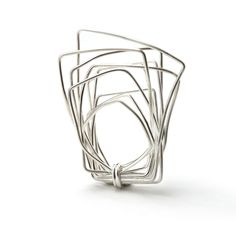 Ring | Linnie McIarty. Sterling silver.