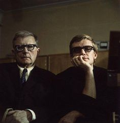 Dmitri Shostakovich with his son Maxim.