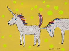 172_unicorns-in-love40x302013Laurain-Paperina-its-nice-that-