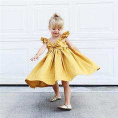 Baby Dresses Girl Summer Clothes with Belt Flower Baby Dress for Girl Ruffle Cotton Vestido solid Bow tie christening, Ropa de niña, Girls Summer Outfits, Kids Outfits, Summer Dresses, Toddler Outfits, Summer Clothes, Fashion Kids, Fashion Wear, Toddler Girl Dresses, Girls Dresses