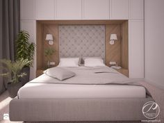 Apartamenty Marymont - Sypialnia, styl tradycyjny - zdjęcie od Progetti Architektura