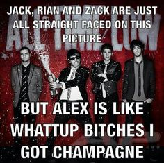 I can't believe Jack isn't like humping Alex or something