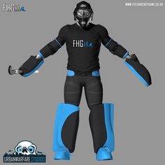 Goalkeeper Model - 2015 - The completed HD male Goalkeeper model. Female GK to come in February!