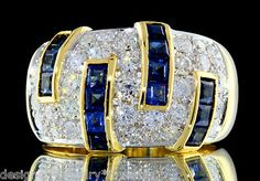 Damiani 3 50ctw Ceylon Sapphire Colorless Diamond 18K Gold Anniversary Ring | eBay Gems Jewelry, Diamond Jewelry, Jewelery, Fine Jewelry, Ring Earrings, Sapphire Earrings, Anniversary Jewelry, Ceylon Sapphire, Blue Sapphire
