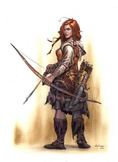 halfling ranger female - Google Search
