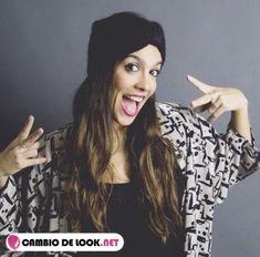 Lorena Castell sin usar maquillaje