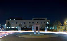 Milton Keynes Hospital at night Milton Keynes, General Hospital, The Neighbourhood, Trust, Mansions, Night, House Styles, The Neighborhood, Manor Houses