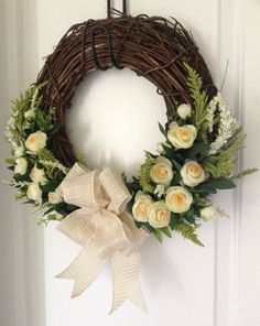 Hey, I found this really awesome Etsy listing at https://www.etsy.com/listing/226873411/summer-wreath-for-front-door-summer