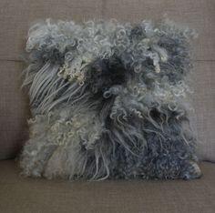 handmade felt, various wool fleeces