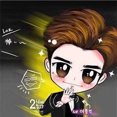 [Fanart] Lee Jong Suk @ SBS Drama Awards By: Loz