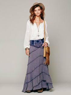 Free People FP X Belly Dancer Convertible Skirt at Free People Clothing Boutique