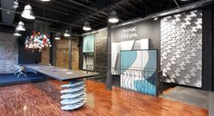 TRESPA Design Centre Barcelona. Concept, design and realisation interior and graphics.