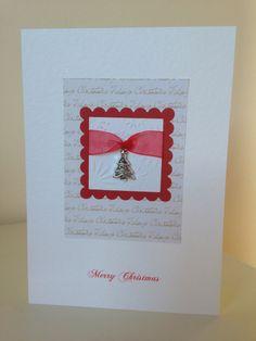 cards on Pinterest | Handmade Christmas Cards, Christmas Cards ...