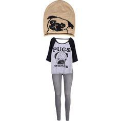 """""""Pugs"""" by emilykinyanjui on Polyvore"""