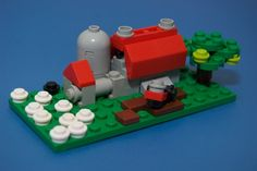 Micro-farm.  If you squint hard enough you can see it all!