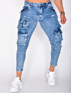 Jeans homme pas cher, jeans Redskins, jean Sixth June - Jeans Industry Sport Outfits, Trendy Outfits, Fashion Outfits, Mens Fashion, Sexy Jeans, Denim Jeans, Skinny Jeans, Jean Sexy, Baggy Sweatpants