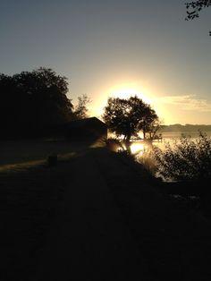 Morgentur ved Sorø sø